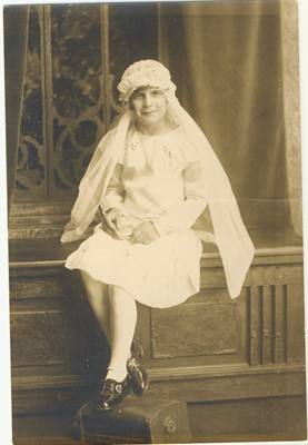 Anne's First Holy Communion at age 7