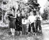 Verna, Cornelia, Calvin, Loraine, and Joseph in Moran, Wyoming.