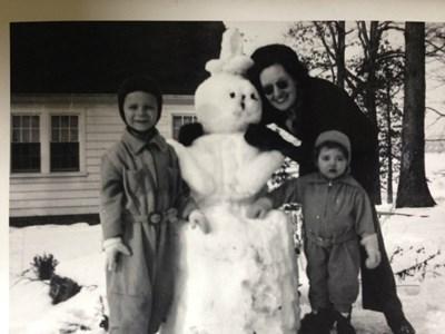 Steve, Dorthoy and Sharon Waynesboro, VA circa 1944