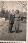 Warrens Parents..Beulah & Conard