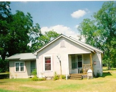 Home where Mother was born in Center TX.