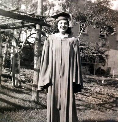High school graduation 1948