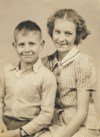 Don and his sister Virginia