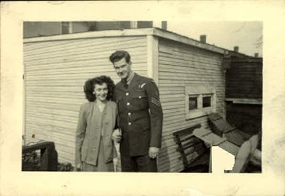 Ernie & Shirley - March 1945 - Dating Years